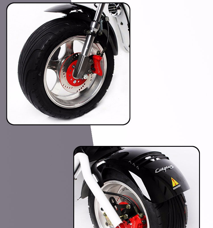 cheap certificated citycoco electric motorcycle scooter for sale