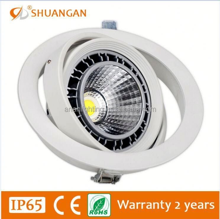 Factory supply white housing 12w 24w luce par led par 38 light Competitive price
