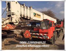 second hand tadano TG100E-3 mobile crane in shanghai