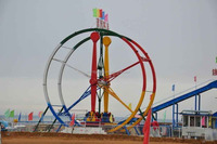 Super Attraction!! kids adults available rides Carnival games ferris ring car for sale