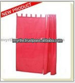 High Quality Fashion Design Poly Cotton Shower Curtain