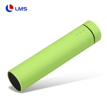 Amazon New 3 in 1 function mini portable tube cylinder flute power bank 4000mah <strong>bluetooth</strong> <strong>speaker</strong> with phone holder