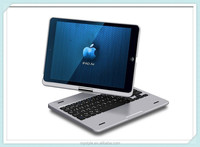 Aluminium 360 Degree Rotating Stand Case Cover Bluetooth Keyboard For Apple iPad Air Swivel Keyboard Case