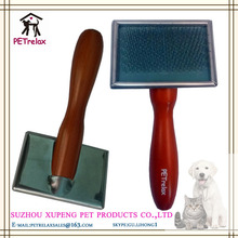 (S) PR80021 professional various color pad selection double use pet brush for dog cleaning
