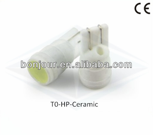 T10 socket 1.5W Ceramic 1 SMD High Power LED Light Bulbs ,LED Side and Tail Light, Signal Lamps