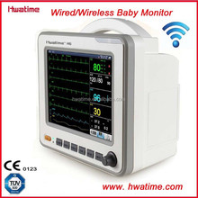 Wired and Wireless Neonatal Patient Monitor Vital Signs Monitor