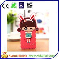 3D character design mobile phone back cover