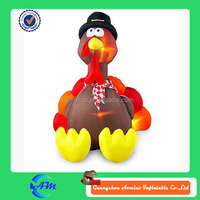 inflatable turkey with led lights inside inflatable chicken for advertising