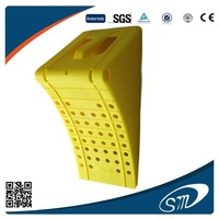 hot sell Yellow plastic wheel chock in China