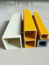 fiberglass pultrusion round/square/rectangular tube solid rod,frp channel beam