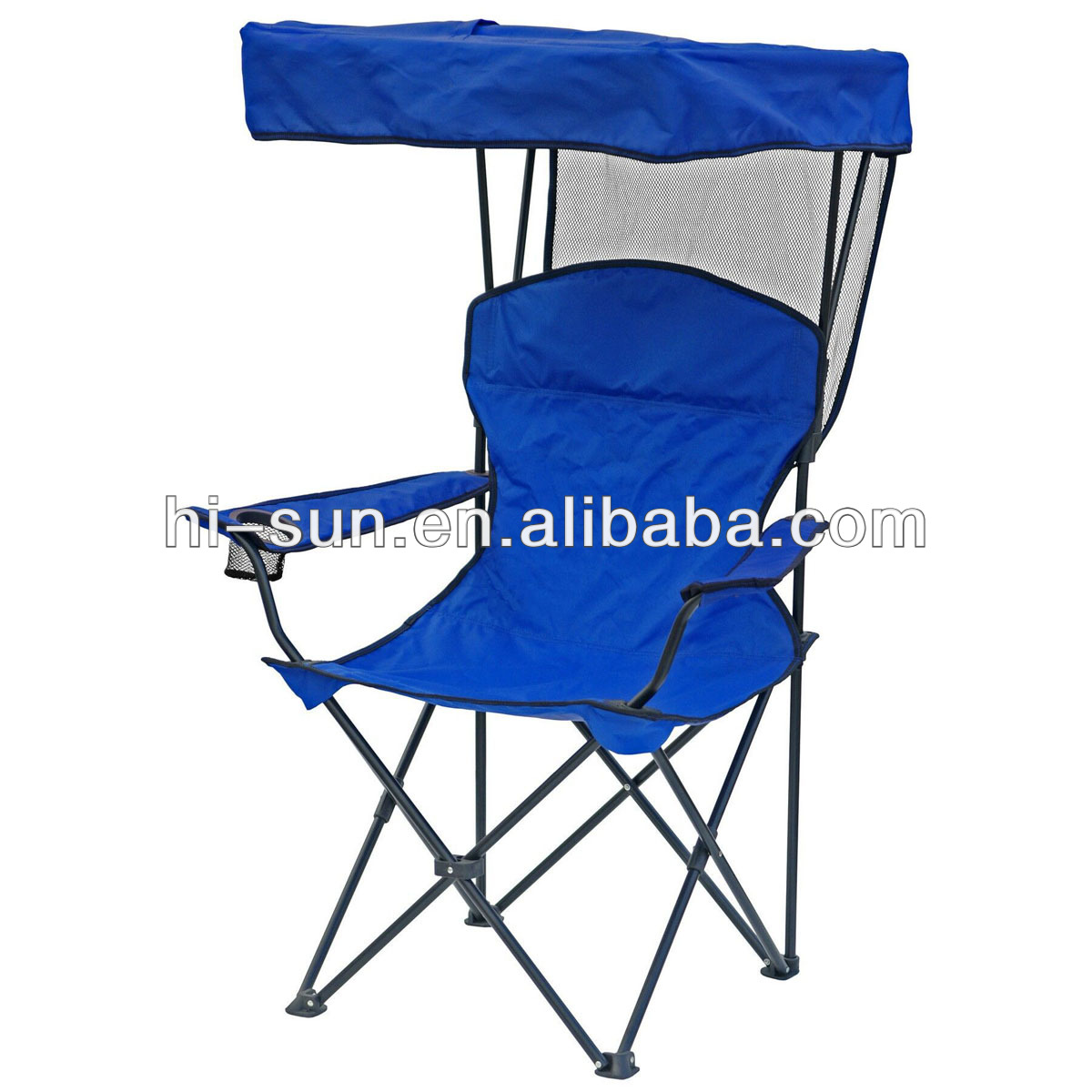 camping W/ Canopy chair, Arm Rests And Carry Bag New Folding canopy Chair