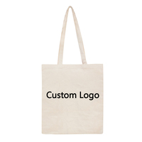 Custom Cheap Promotion Cotton Canvas Shopping Tote Bag With Your Logo