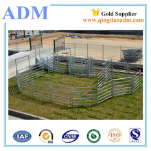 Galvanize Livestock Equipment Cattle Ranch Yard Fence Panel