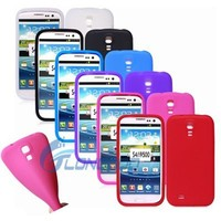 Promotional Gel Rubber Soft Silicone Case For Samsung S4 I9500 I9505