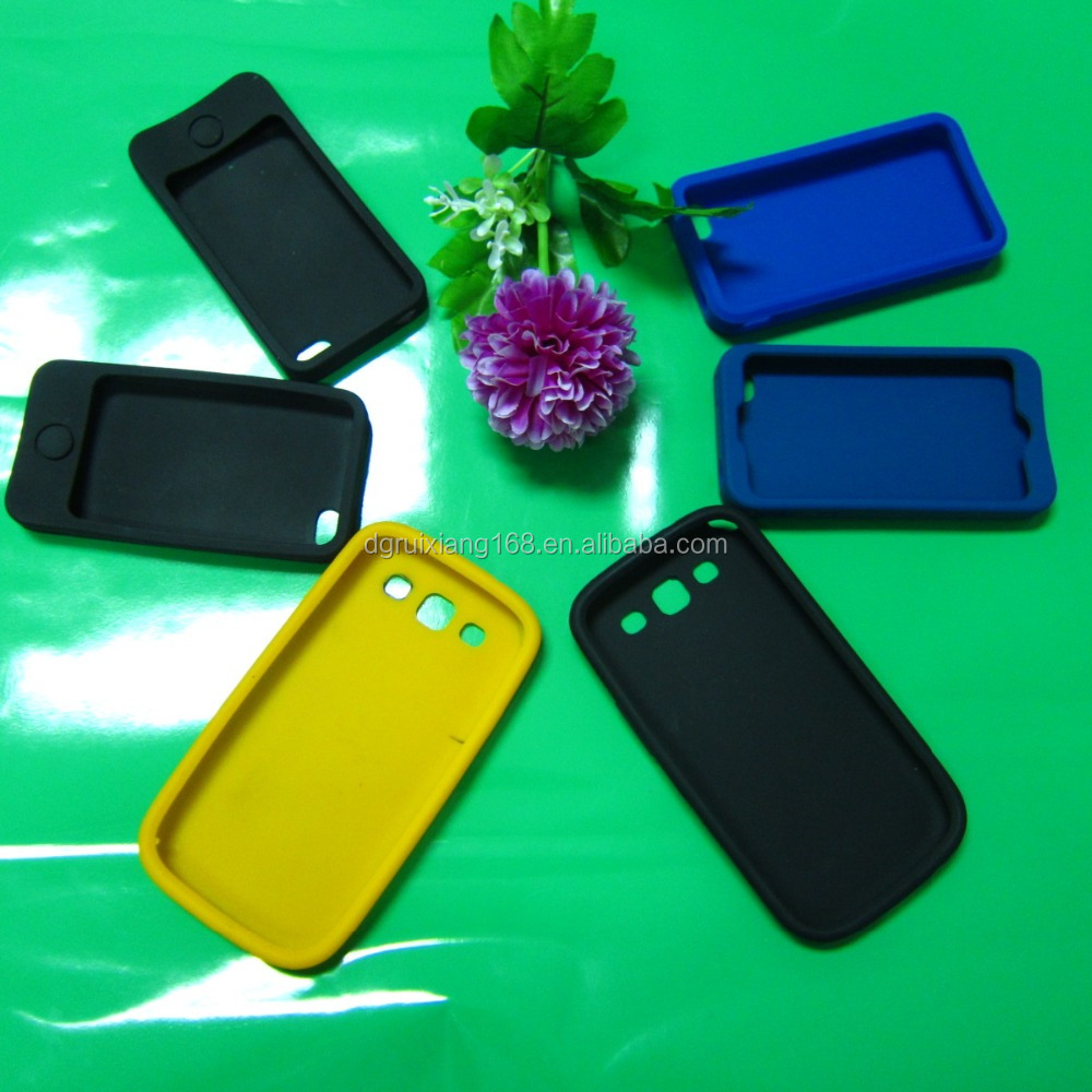 Wear- Resistant silicone case for mobile phone cover