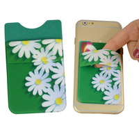 customized flexibly 3m lycra mobile phone pocket