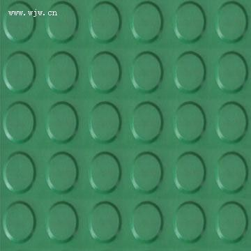 2mm Anti-static rubber sheet round button rubebr mat circle rubber mat sheet NBR rubber sheet