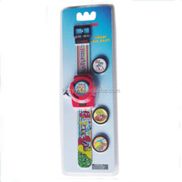 Flying Saucers Plastic Children Toy Watch