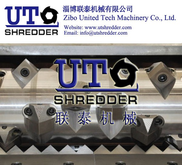 shredder blade / shredder knife / single shaft shredder