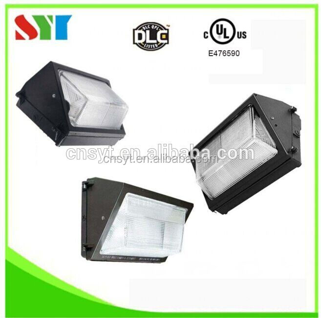 dlc ul cul outdoor 60w led wallpack light / dlc ul ip65 120w led wall packs replace 400w metal halide fixture