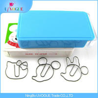 Factory Supply Best price Eco-Friendly Hello Kitty Mouse Head Cartoon Animals Style Paper clips
