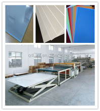 Plastic acrylic sheet making machine