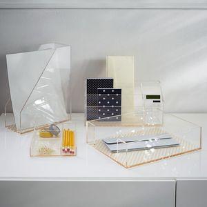 Clear Acrylic Desktop Organizer Office Accessories Supplieranufacturers At Alibaba