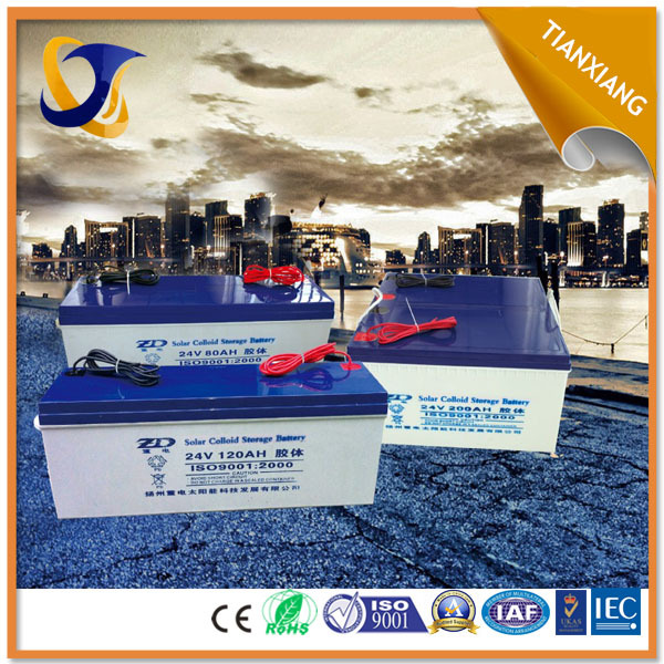 2015 hot sale in Africa factory direct price good factory supply solar gel battery 12v 200ah