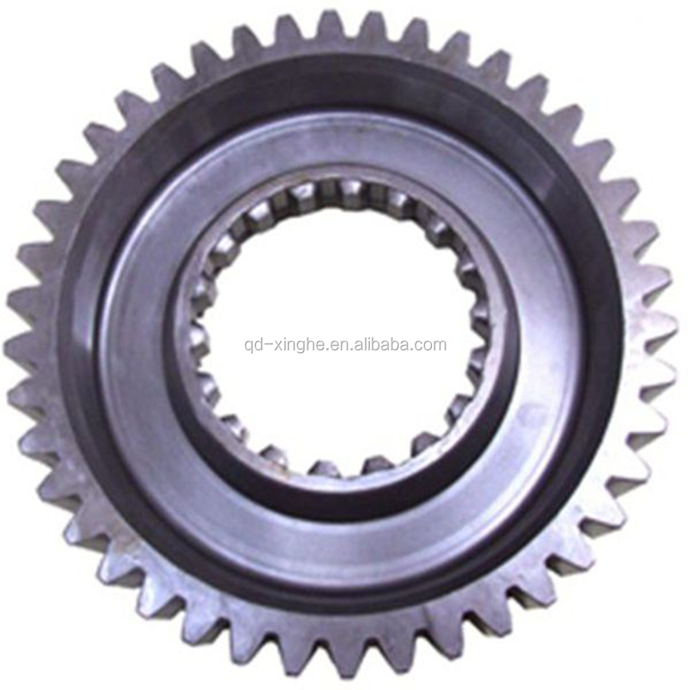 CNC machine Industrial parts forged metal spur gear wheel custom wheel