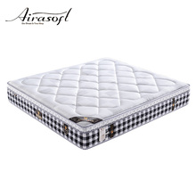 Customized size nature deluxe pocket coil spring mattress