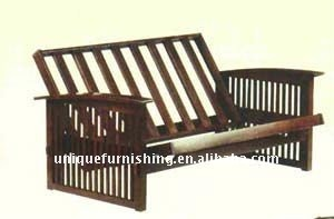 New Design Solid Wood Sofa Futon Frame Buy Futon FrameWooden