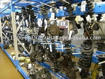 Used Japanse Auto Parts, Strut Assemblies in Japan head factory