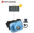 3W led solar rechargeable headlamp