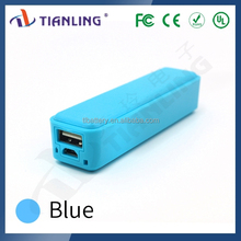 external ultra small size mobile power bank 3000mah universal usb backup power TLID-ID0123