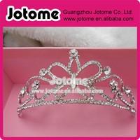 Stylish Rhinestone Crown Headband Fashion Tiara for Hair Jewelry New Bridal Wedding