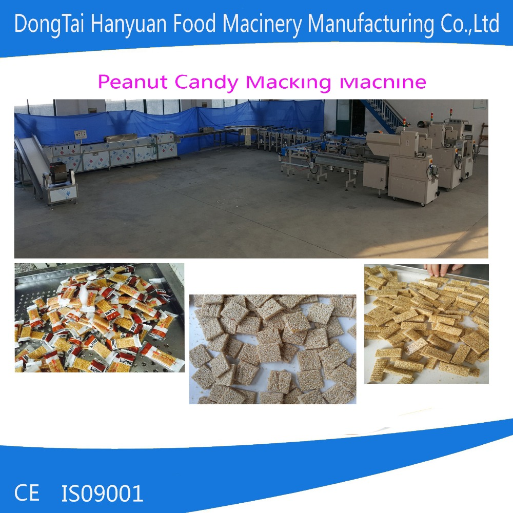 peanut candy making machine, sorghum candy cutting machine