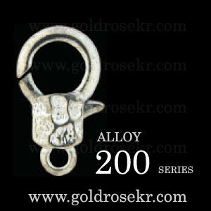 Alloy Lobster clasp 200 series