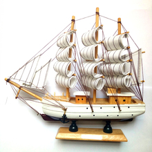 Mettle High Quality Home Decoration Wooden Historical Ship Model Sailing Boat Model