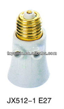 Porcelain Lamp Socket, lamp holder, lamp base E27 JX512-1