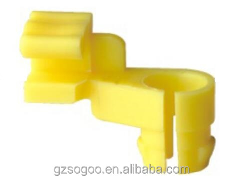 High quality auto plastic fasneners and clips /door lock rod clips