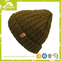 Wholesale Newest cute crochet beanie hat with braid