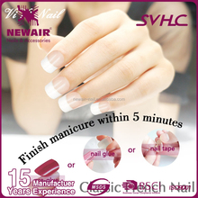 Artificial Finger Art Design Natural French False Edge Nail Tips