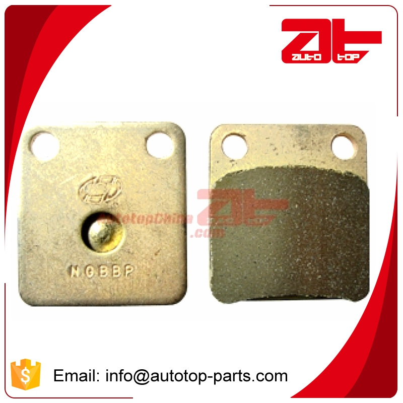 High quality sintered motorcycle brake pads for FA257
