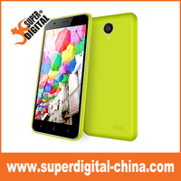 China factory cheap price 5.0inch HD LCD 1280*720 Curved edge screen 3G mobile phones/quad core smartphone