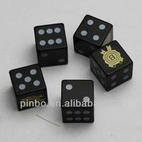 16mm Custom Gambling Dice Games