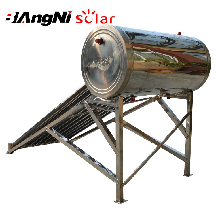 Normal Solar Energy Water Heating Thermal Evacuated Vacuum Tube