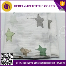 100% Cotton Double-Layer Gauze for Garment