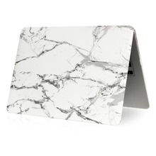 high quality wholesales matt pc hard case for macbook pro13 marble laptop case
