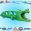 crocodile inflatable slip n slide, custom slip n slide inflatable water slides