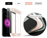 Economic use 99% transparency anti-shock super thin 0.2mm 9h tempered glass screen protector review